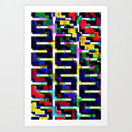 Rainbow Snake no.2 Art Print