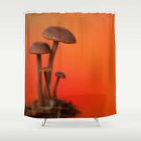 mushrooms Shower Curtains featuring Mushrooms by Nature In Art...