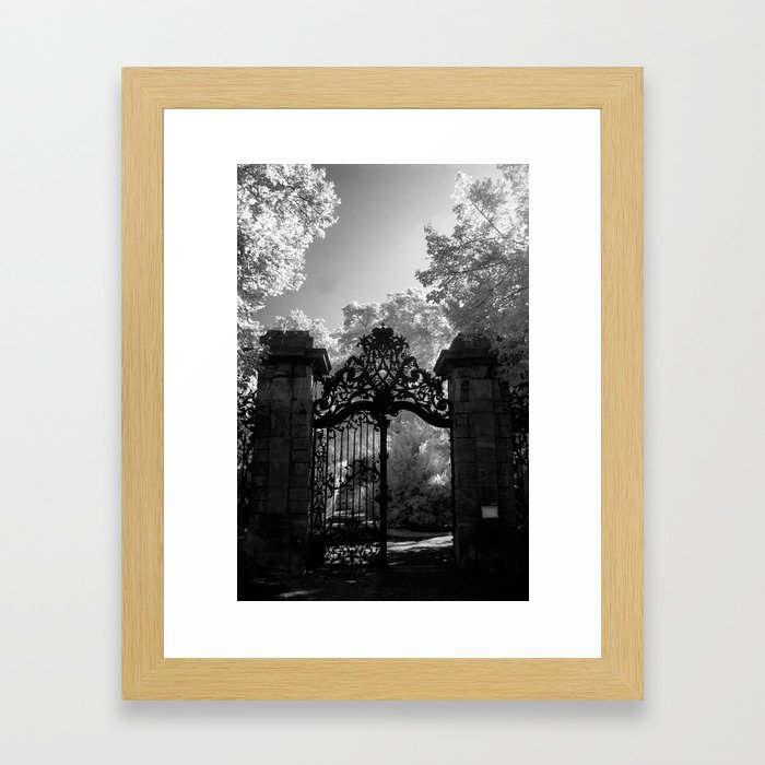Big Gates Framed Art Print