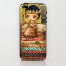 Sleepless Nights With The Princess And The Pea iPhone Skin