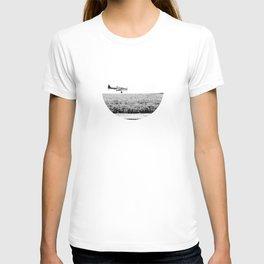 Plane Landscape T-shirt