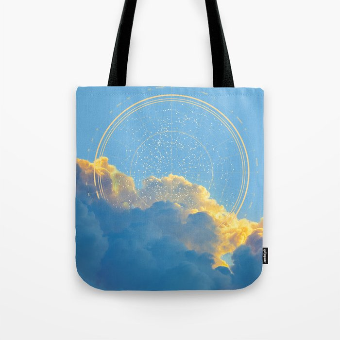 Create Your Own Constellation Tote Bag