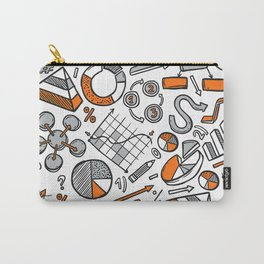 Charts Sketch Seamless Pattern Carry-All Pouch