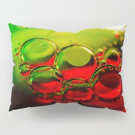 Bubble Art Multi Colored Illustration Pillow Sham