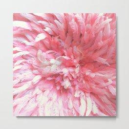 Iroquai Pink Metal Print
