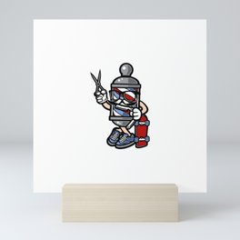 Barber Skater Mini Art Print