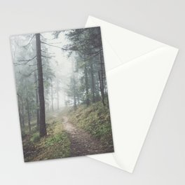 Into the unknown - Landscape and Nature Photography Stationery Cards
