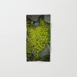The tiny green forest Hand & Bath Towel