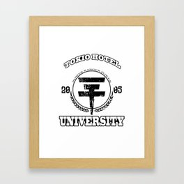 TokioHotel University Framed Art Print