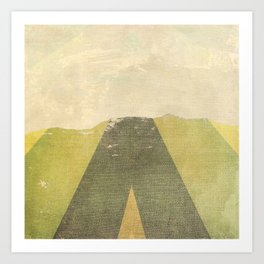Patterned Horizon Art Print