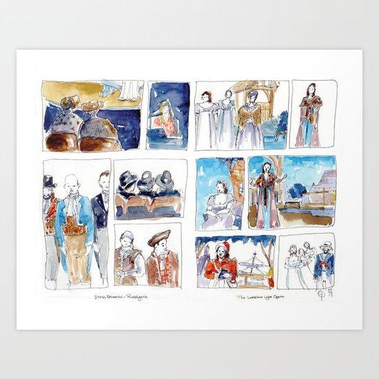 Lakeshore Light Opera Ruddigore 1 Art Print