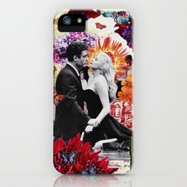 la dolce vita collage iPhone Case