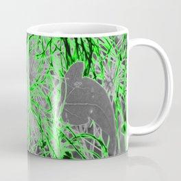 Electric Orbs - Green Coffee Mug
