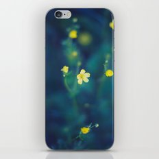yellow wildflowers iPhone & iPod Skin