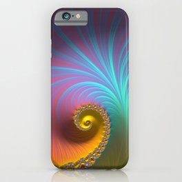 Kapow! - Fractal Art  iPhone Case