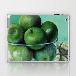 Green Apple and Tea Towel I Laptop & iPad Skin