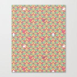 Tutti Frutti Vitral Canvas Print