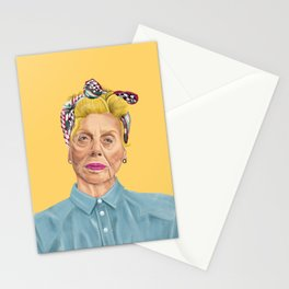 The Israeli Hipster leaders - Shulamit Aloni Stationery Cards