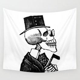 Calavera Man   Skeleton Man   Day of the Dead   Dia de los Muertos   Skulls and Skeletons   Vintage Skeletons   Posada   Wall Tapestry
