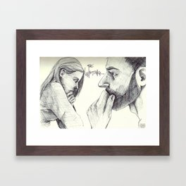 The Waiting Framed Art Print