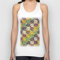 Pattern circles joined Unisex Tank Top