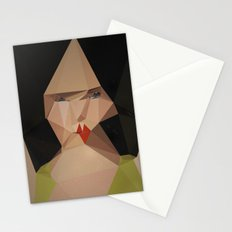 pretty face Stationery Cards
