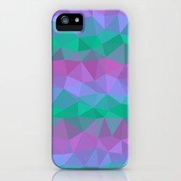 Jewel Tone Stripes iPhone Case