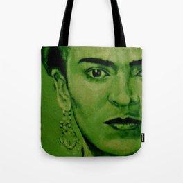 Frida Kahlo - red bow Tote Bag