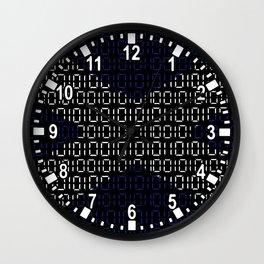 digital Flag (scotland) Wall Clock
