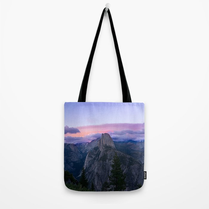 Yosemite National Park at Sunset Tote Bag