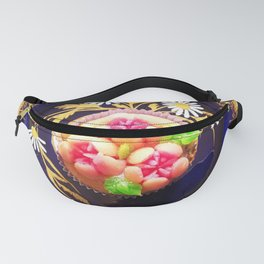 Cupcake with Russian Piping Fanny Pack