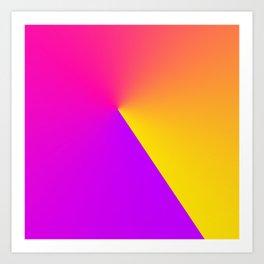 Abstract Summer Impression Art Print