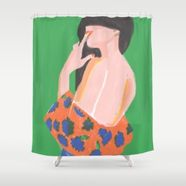 Feminine Instinct - Woman Beauty 1 Shower Curtain