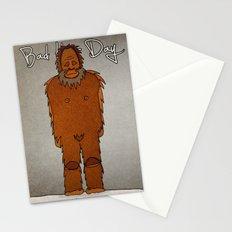 bad hair day no:4 / Bigfoot Stationery Cards