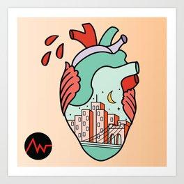 I Heart NY Art Print