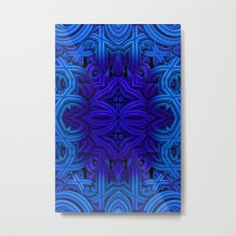 Deep Blue One Metal Print