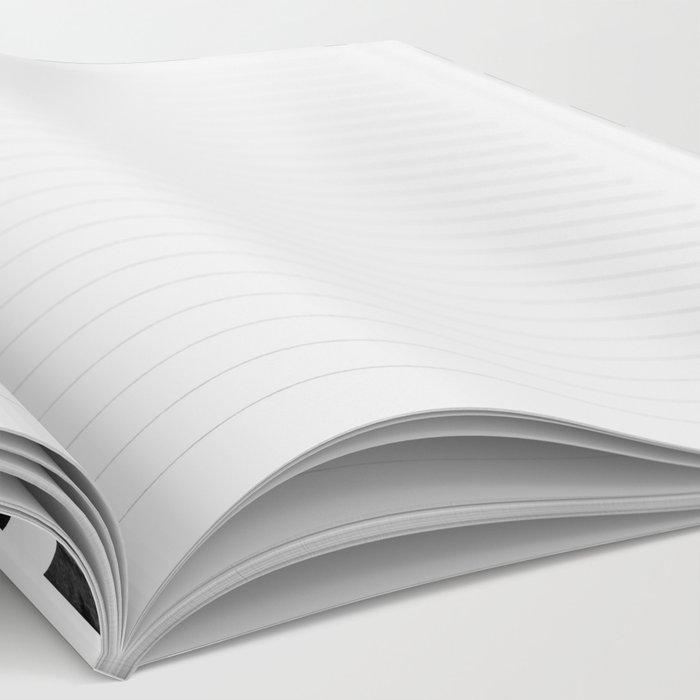 Brush Chevron Notebook