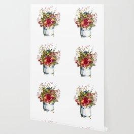 Woodland Bouquet Wallpaper