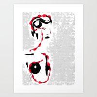 So many days, so many nights - Emilie Record Art Print