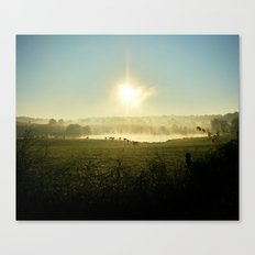 The Comfort That Home Brings Canvas Print