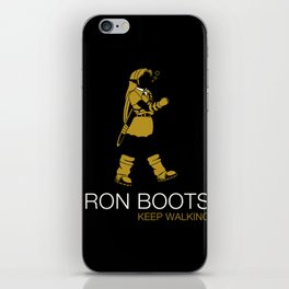 Iron Boots iPhone Skin