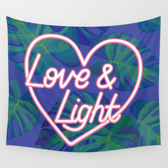 Love and Light Wall Tapestry