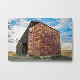 Grain Elevator 1 Metal Print