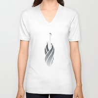 dead space V-neck T-shirts featuring Dead Space by Pedro J. Romero