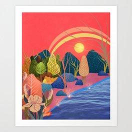 Mystery Garden V Art Print