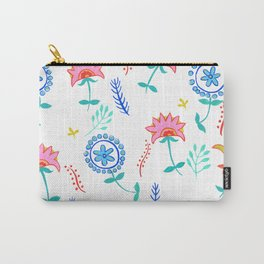 Summer Time Flowers Carry-All Pouch