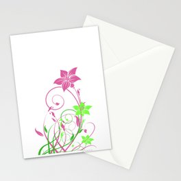 Spring's flowers Stationery Cards