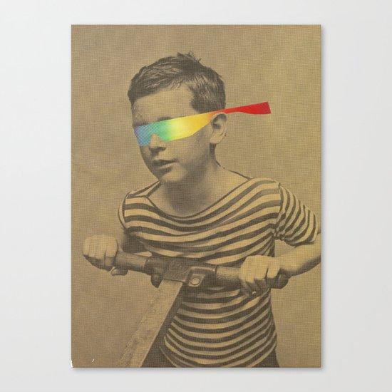 Occhiali cromodimensionali Canvas Print