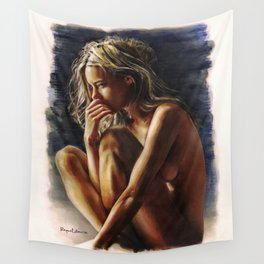 Femme/5 Wall Tapestry