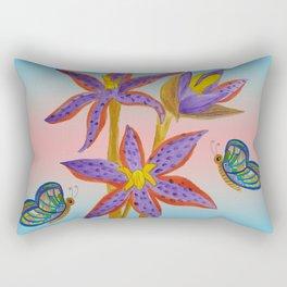 Queen of Sheba Orchids  Rectangular Pillow